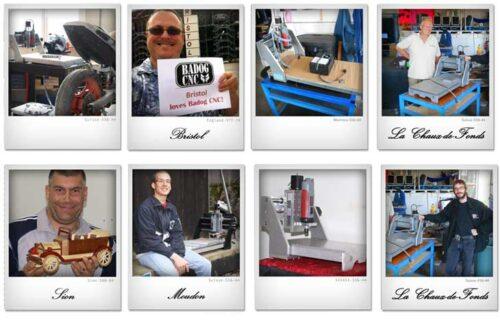 nos clients pour la fraiseuse cnc et machine outil suisse