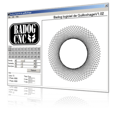 logiciel de guilloche CNC