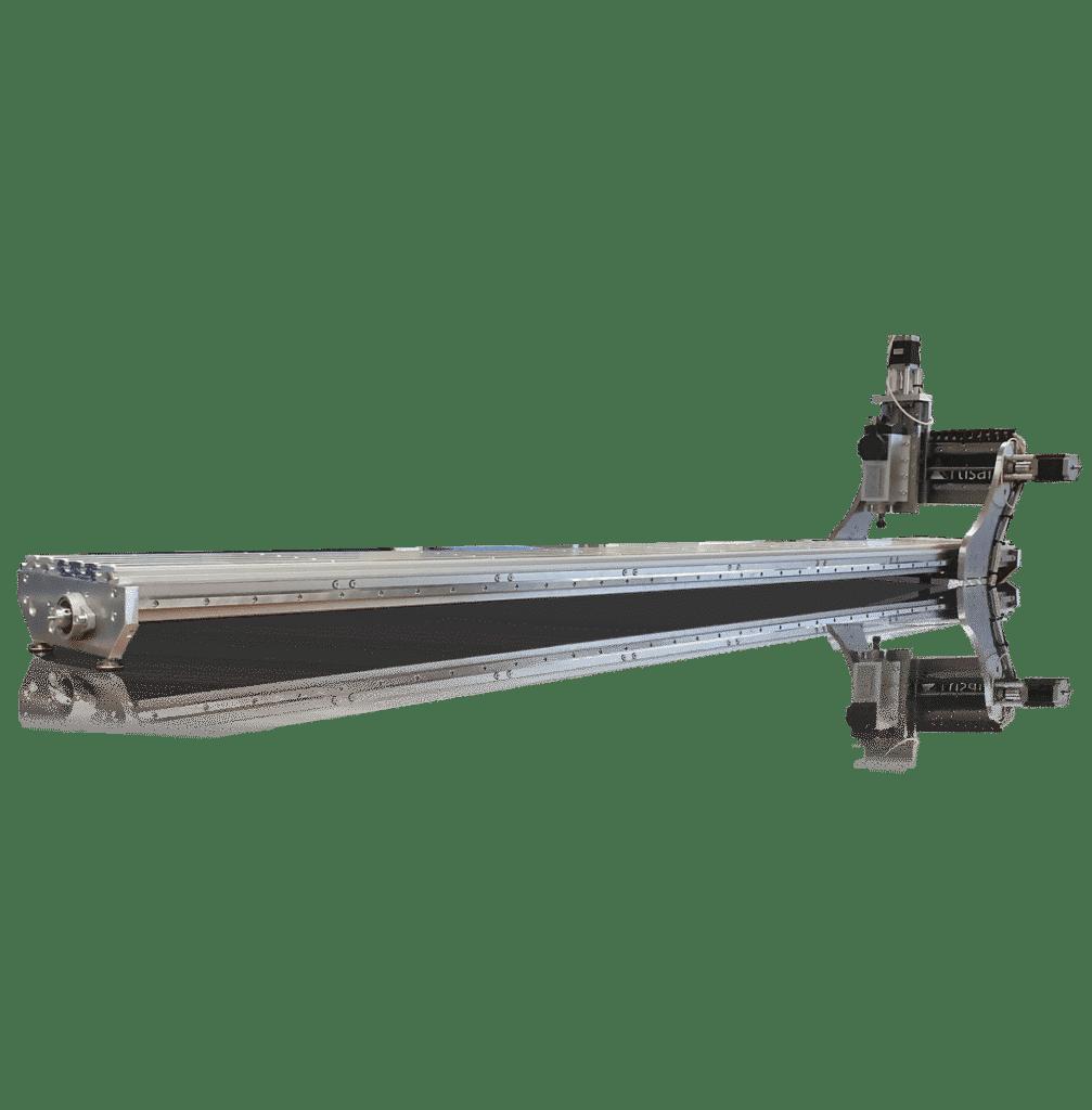 CNC pour fabrication de ski machine fabrication ski